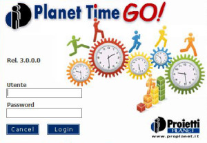 SplashScreen Planet Time Go!