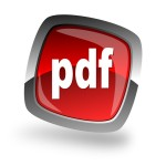 Pdf file internet icon